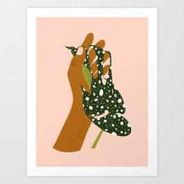 Botanical Love #painting #illustration Art Print