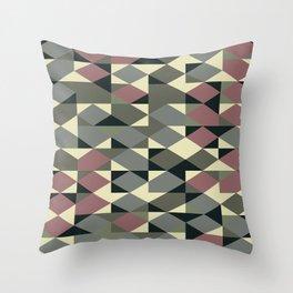 Abstract Geometric Artwork 48 Throw Pillow