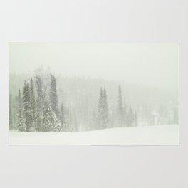 Snowy day Rug