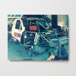 Dirty Job equals a Fast Truck Metal Print
