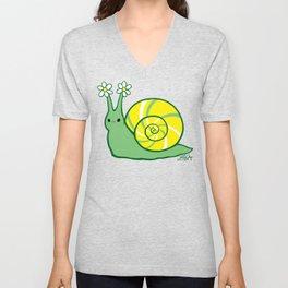 Sweetie Greenie Snail Unisex V-Neck