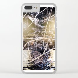 Sea Monsters Clear iPhone Case