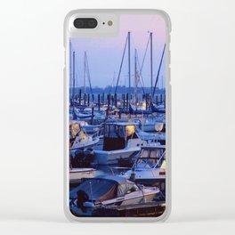 Brooklyn Marina Clear iPhone Case