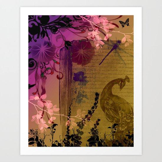 """""""Secret Garden"""" Art Print"""