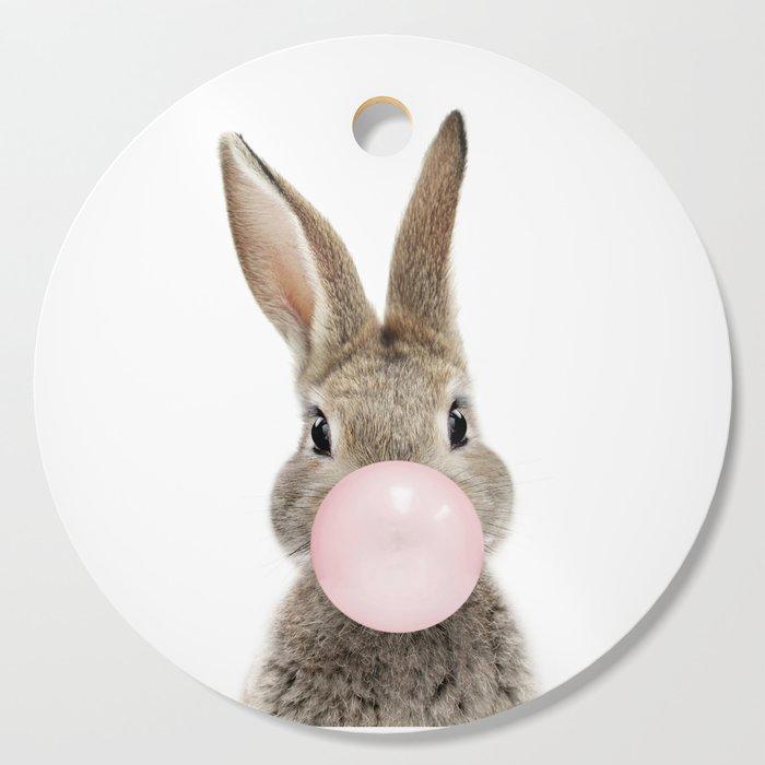 Bubble Gum Bunny Cutting Board