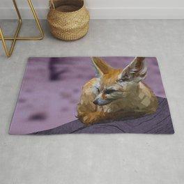 Naranja - Fennec Fox Rug
