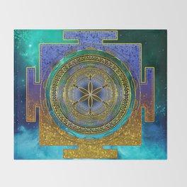 Yantra Mantra Mandala #1 Throw Blanket