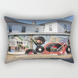 Wonderland Records Rectangular Pillow