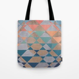 Circles and Triangles Tote Bag