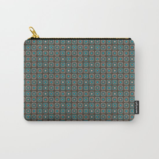 Pattern blue azul 6 Carry-All Pouch