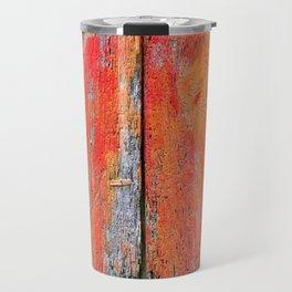 Weathered Wood Shutter rustic decor Travel Mug