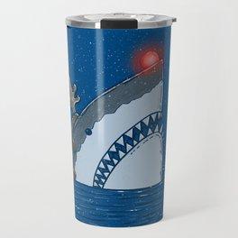 Rudolph Shark Travel Mug