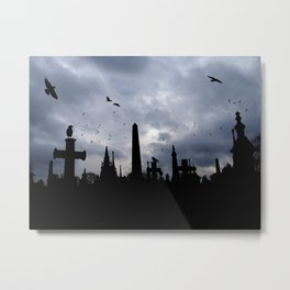 crows and crosses Metal Print