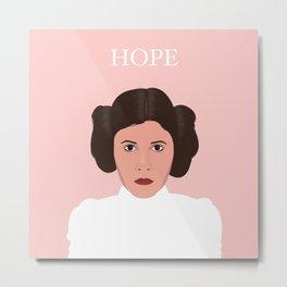Leia's Hope Metal Print