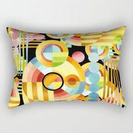 Art Deco Maximalist Rectangular Pillow