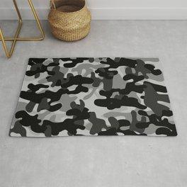 Camouflage (Gray) Rug