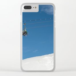 Chairlift Exchange Clear iPhone Case