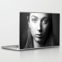 laura palmer Laptop & iPad Skins featuring Laura by emmacanfield