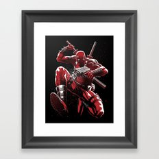 Regenerating Degenerate Framed Art Print