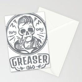 Greaser I Stationery Cards