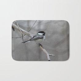 Black-capped Chickadee Bath Mat