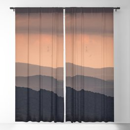 Blue Ridge Parkway Sunset - Shenandoah National Park Blackout Curtain