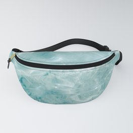 Clear blue water | Colorful ocean photography print | Turquoise sea Fanny Pack