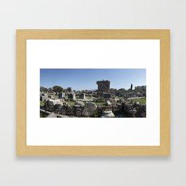 Excavations of Gortyn Framed Art Print