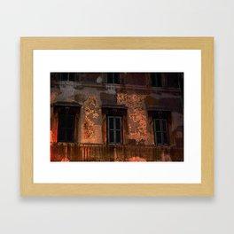 Three - Windows Framed Art Print