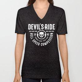 Devil's Ride Unisex V-Neck