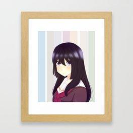 Reina Framed Art Print