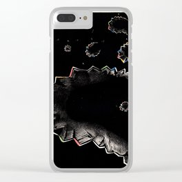 Airy Scotoma Clear iPhone Case