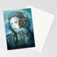 From the deep blue Stationery Cards