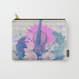 """VIOLIN by collection """"Music"""" Carry-All Pouch"""