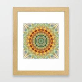 Mandala Sympathy Framed Art Print