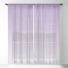 Lavender Ombre Sheer Curtain