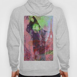 """"""" Add two letters in Paris: it is the paradise """" Hoody"""