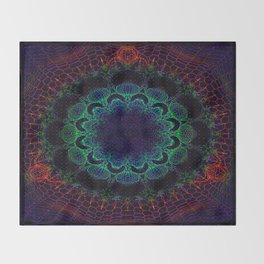Cosmosis Throw Blanket