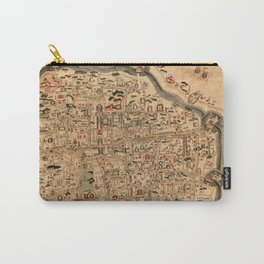 Map Of Ningbo 1846 Carry-All Pouch