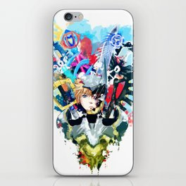 Keys iPhone Skin