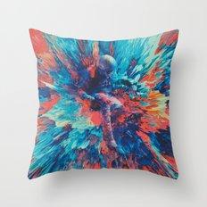 Paschálēs (Abstract 27) Throw Pillow