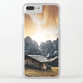 seiser alm Clear iPhone Case