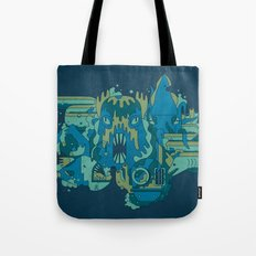 Deep Blue Sea Tote Bag