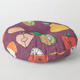 Mod Fruit Purple Floor Pillow