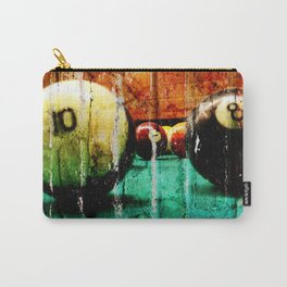 Pool and Billiards Art Carry-All Pouch