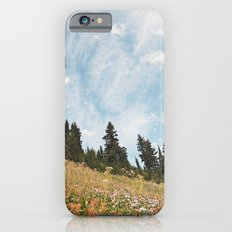 Mountain Flowers in the Sun iPhone 6s Slim Case