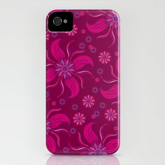 Floral Obscura Wine iPhone (4, 4s) Slim Case
