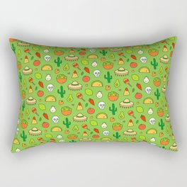 Viva Mexico - Cute Pattern Rectangular Pillow