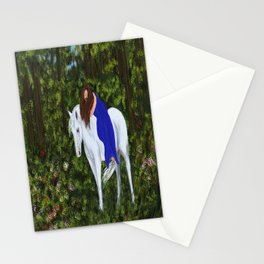 Temptress in the Forest Stationery Cards