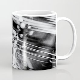Strings Attached an electric guitar abstract Coffee Mug